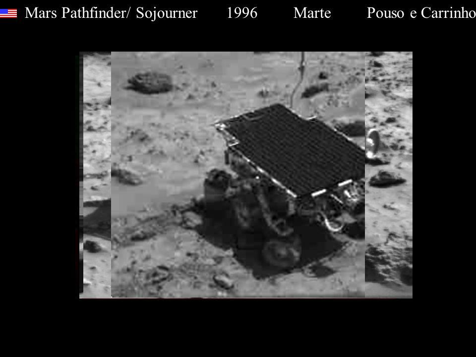 Mars Pathfinder/ Sojourner 1996 Marte Pouso e Carrinho
