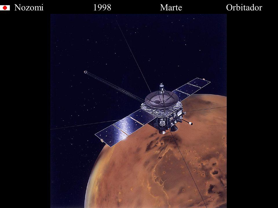 Nozomi 1998 Marte Orbitador