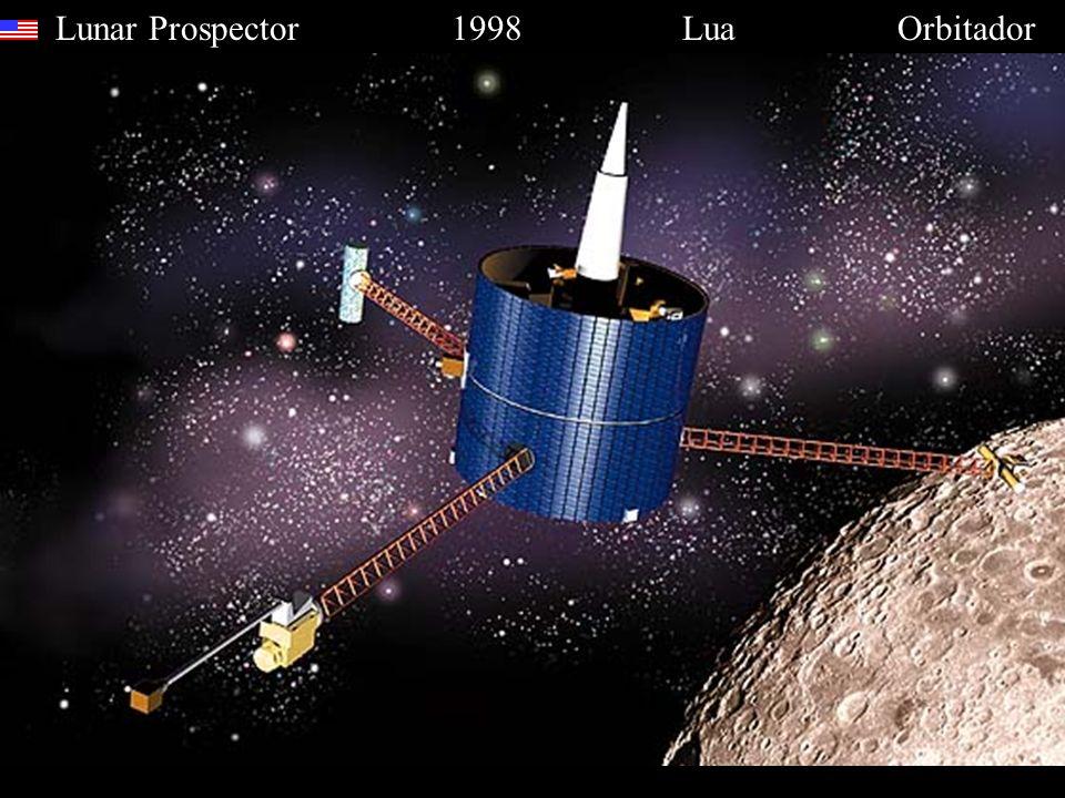 Lunar Prospector 1998 Lua Orbitador