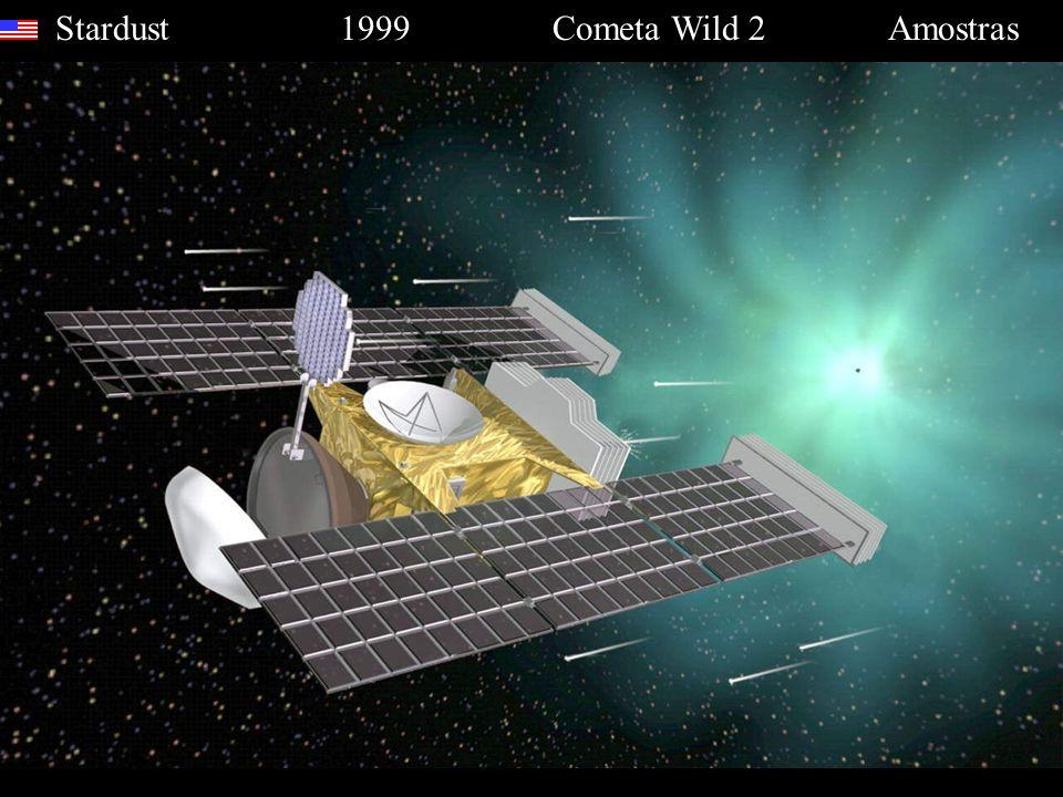 Stardust 1999 Cometa Wild 2 Amostras
