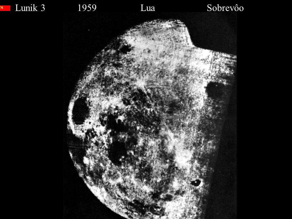 Lunik 3 1959 Lua Sobrevôo