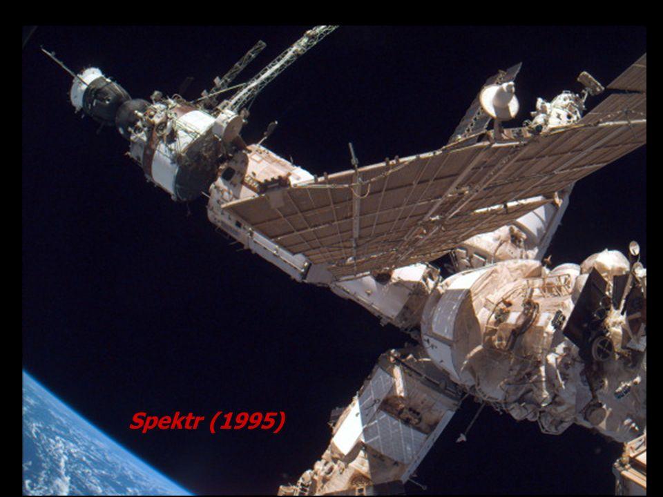 Fontes recomendadas Johnson Space Center- NASA http://spaceflight.nasa.gov/history/shuttle-mir/ops/mir Mark Wades Encyclopedia Astronautica http://www.rocketry.com/mwade/spaceflt.htm Space.com http://space.com CNN.com http://cnn.com/space Heavens Above http://www.heavens-above.com