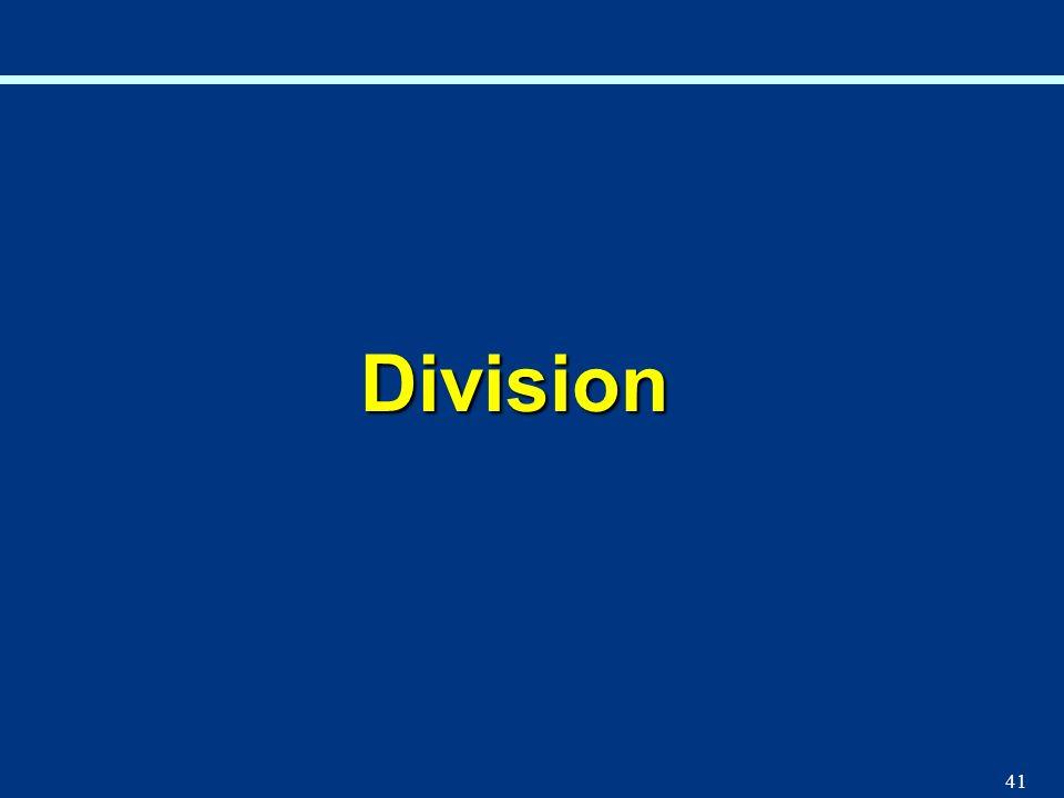 41 Division