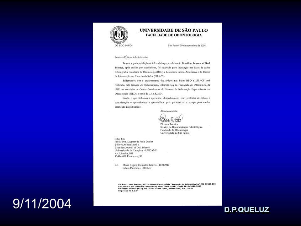 D.P.QUELUZD.P.QUELUZ 9/11/2004