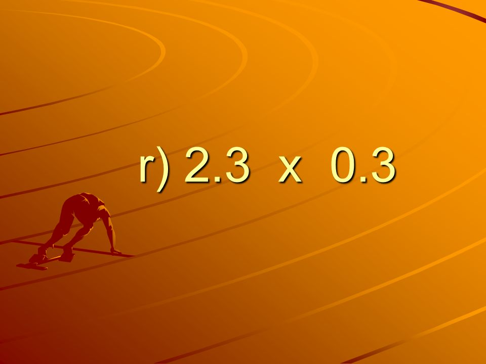 r) 2.3 x 0.3