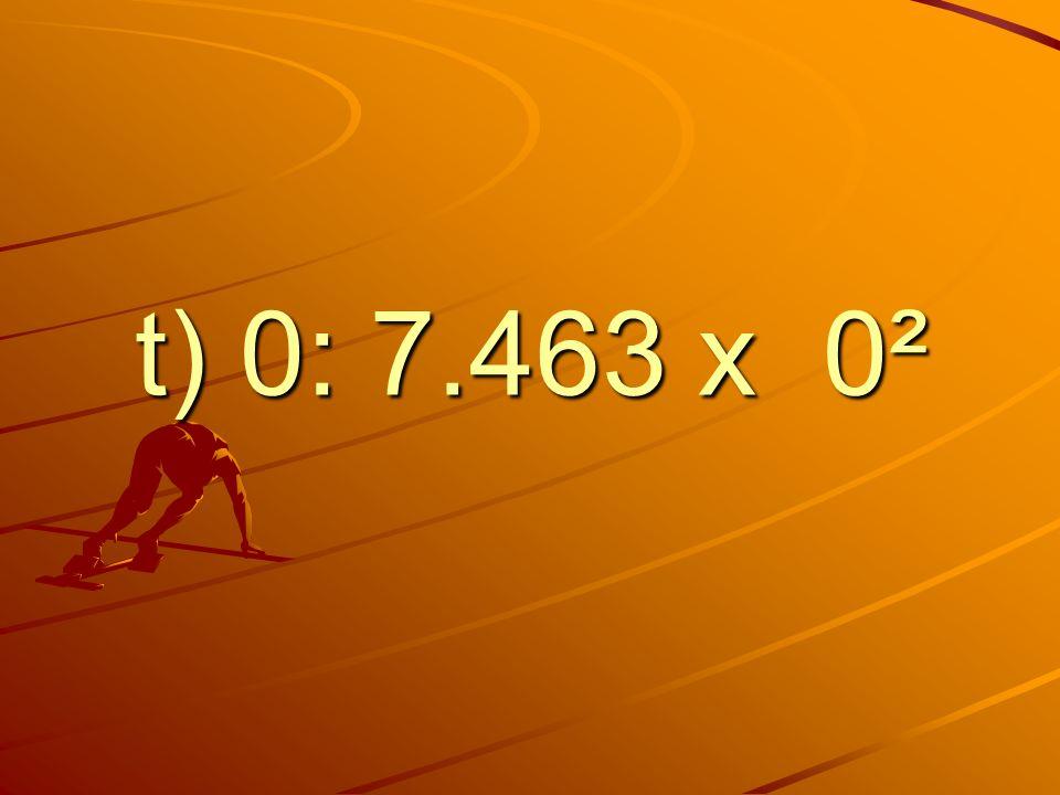 t) 0: 7.463 x 0²
