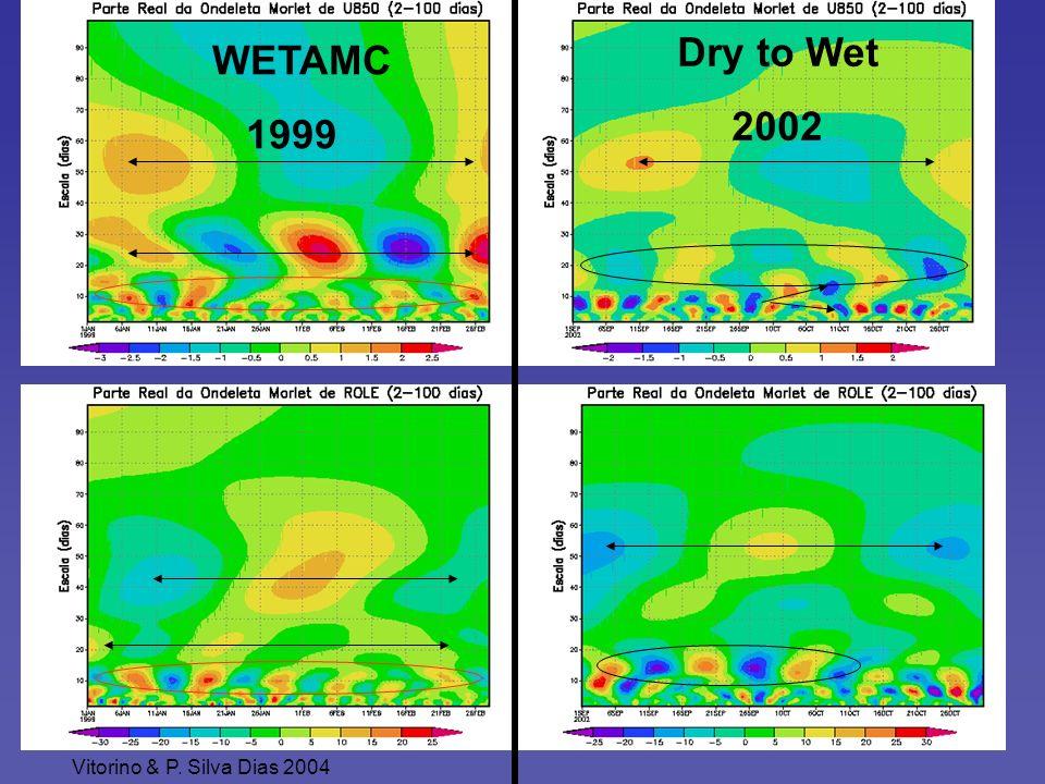 WETAMC 1999 Dry to Wet 2002 Vitorino & P. Silva Dias 2004