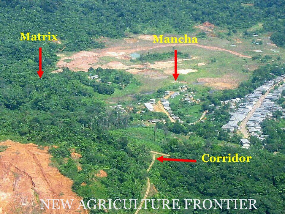 Matrix Mancha Corridor NEW AGRICULTURE FRONTIER