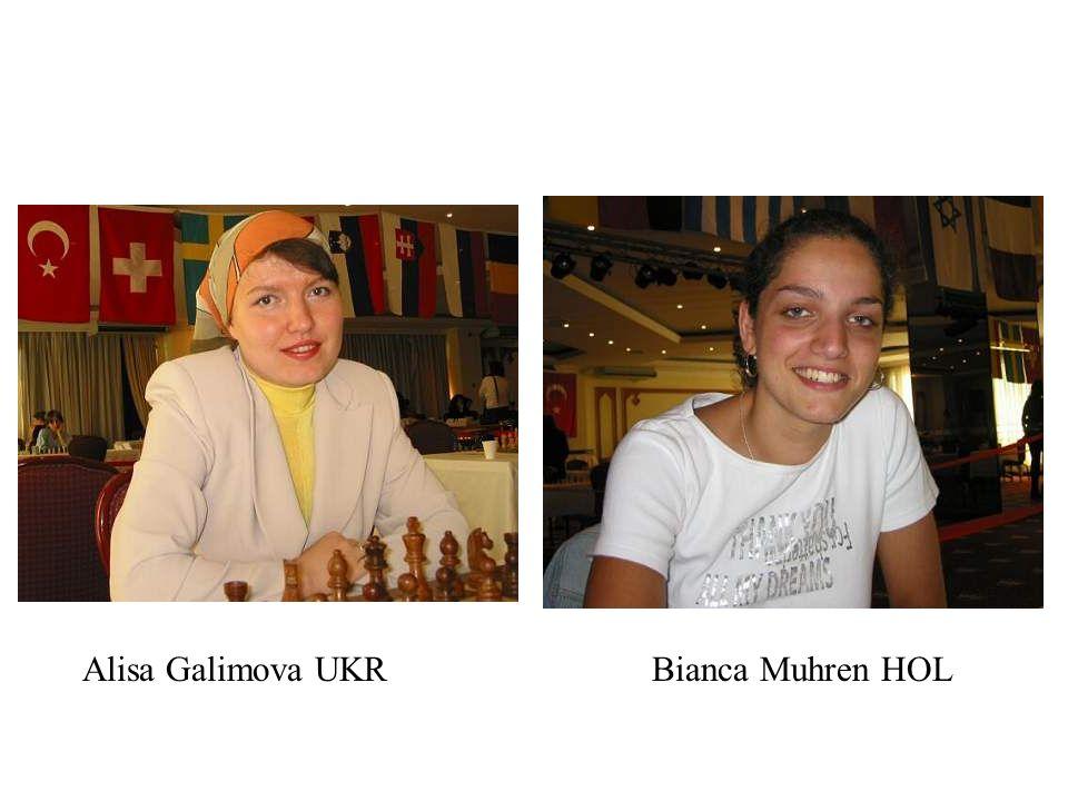 Alisa Galimova UKRBianca Muhren HOL