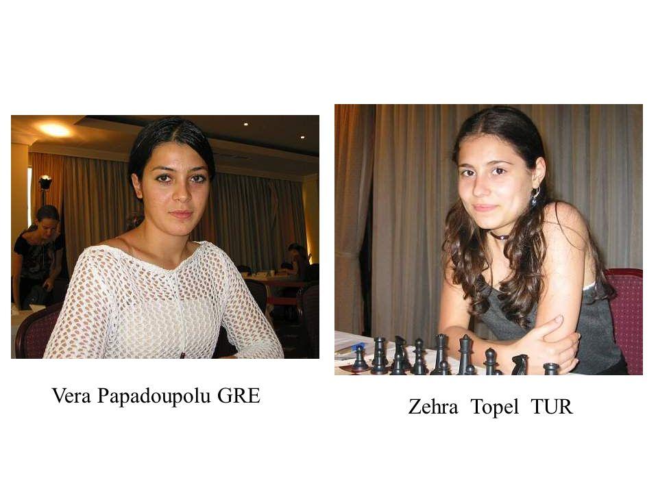 Vera Papadoupolu GRE Zehra Topel TUR
