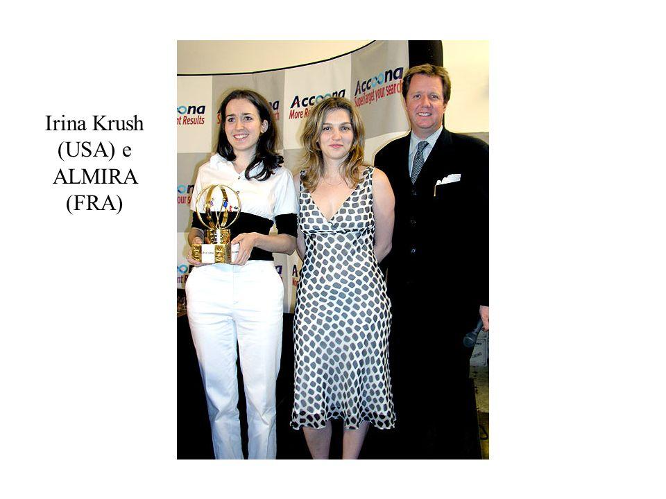 Irina Krush (USA) e ALMIRA (FRA)