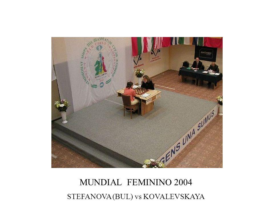 MUNDIAL FEMININO 2004 STEFANOVA (BUL) vs KOVALEVSKAYA