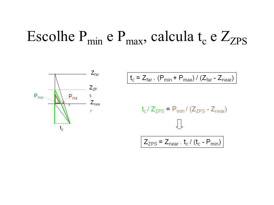 ComputeStereo do VGL (2) tc = m_zfar*(pmin+pmax)/(m_zfar-m_znear); zps = tc*m_znear/(tc-pmin);