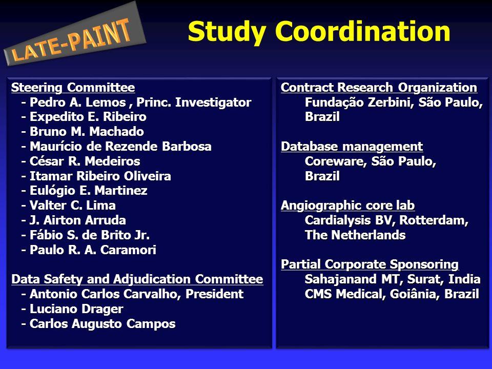 Steering Committee - Pedro A. Lemos, Princ. Investigator - Expedito E.