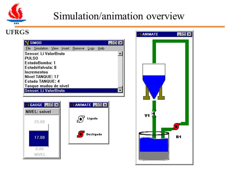 UFRGS Simulation/animation overview