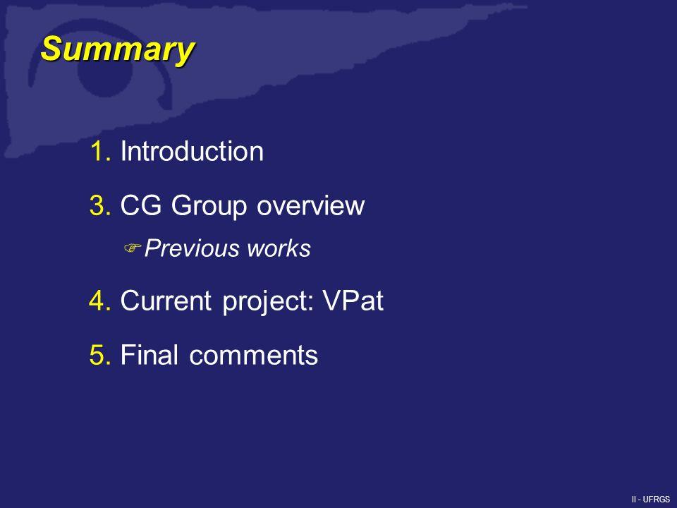 II - UFRGS 1. Introduction