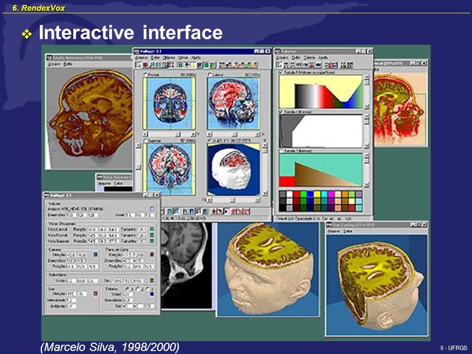 II - UFRGS Interactive interface (Marcelo Silva, 1998/2000) 6. RendexVox