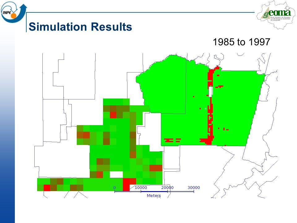 Simulation Results 1985 to 1997