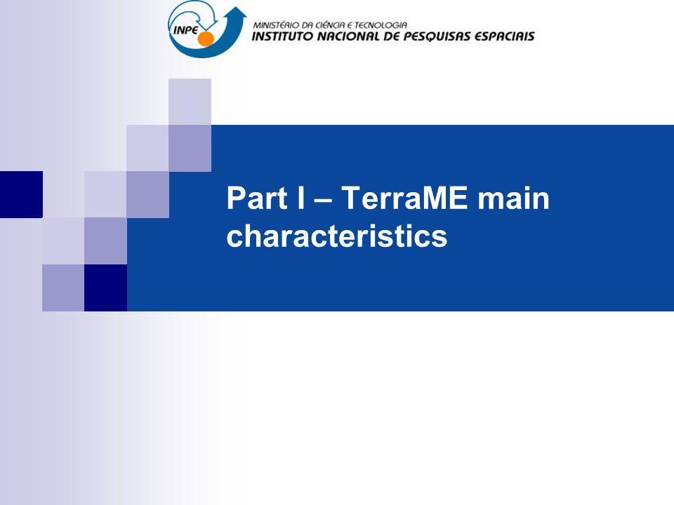 Part I – TerraME main characteristics