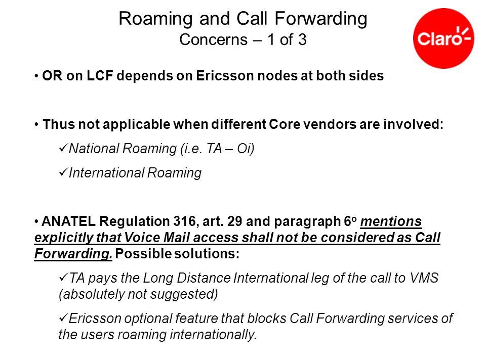National Roaming – GSM Charging ?.