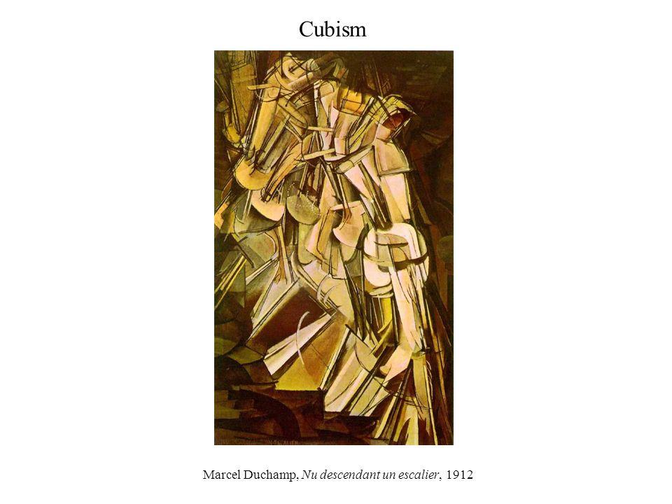 Marcel Duchamp, Nu descendant un escalier, 1912 Cubism
