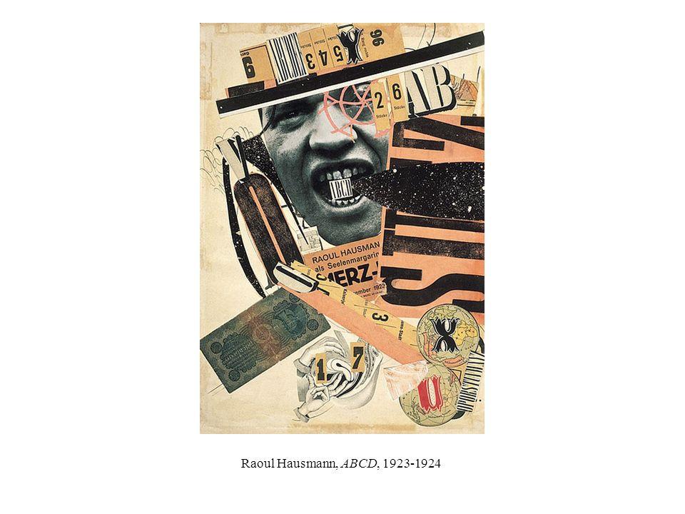 Raoul Hausmann, ABCD, 1923-1924