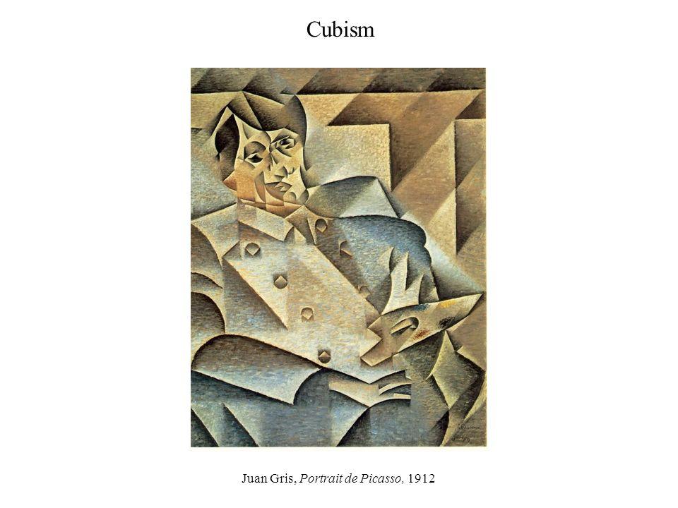 Juan Gris, Portrait de Picasso, 1912 Cubism