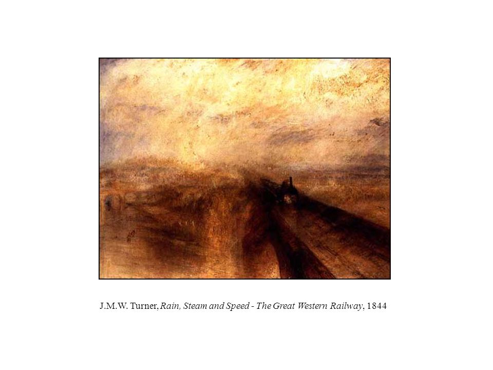 J.M.W. Turner, Rain, Steam and Speed - The Great Western Railway, 1844