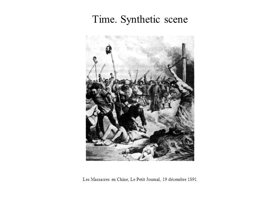 Time. Synthetic scene Les Massacres en Chine, Le Petit Journal, 19 décembre 1891