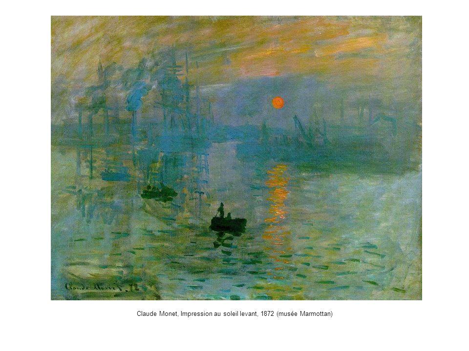 Claude Monet, Impression au soleil levant, 1872 (musée Marmottan)
