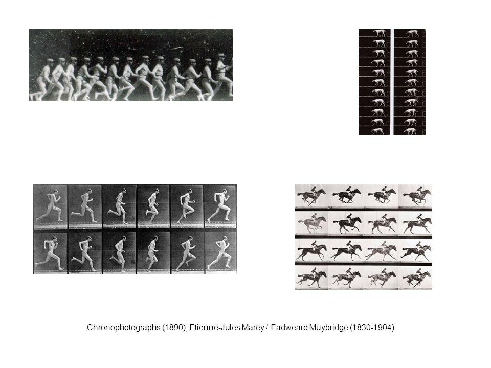 Chronophotographs (1890), Etienne-Jules Marey / Eadweard Muybridge (1830-1904)