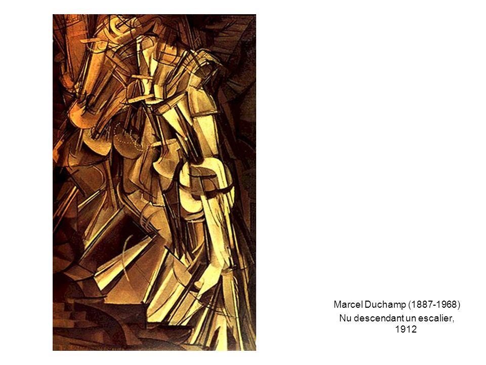 Marcel Duchamp (1887-1968) Nu descendant un escalier, 1912