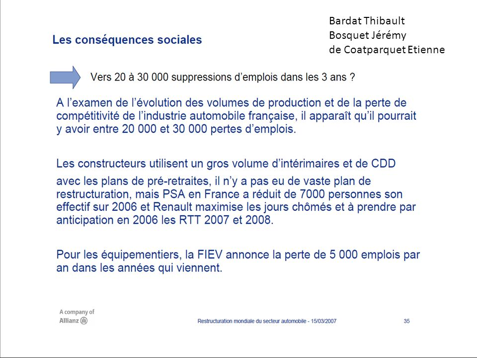 Bardat Thibault Bosquet Jérémy de Coatparquet Etienne