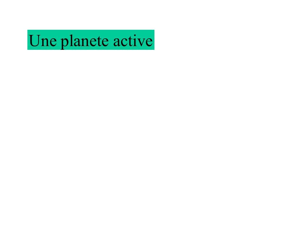 Une planete active