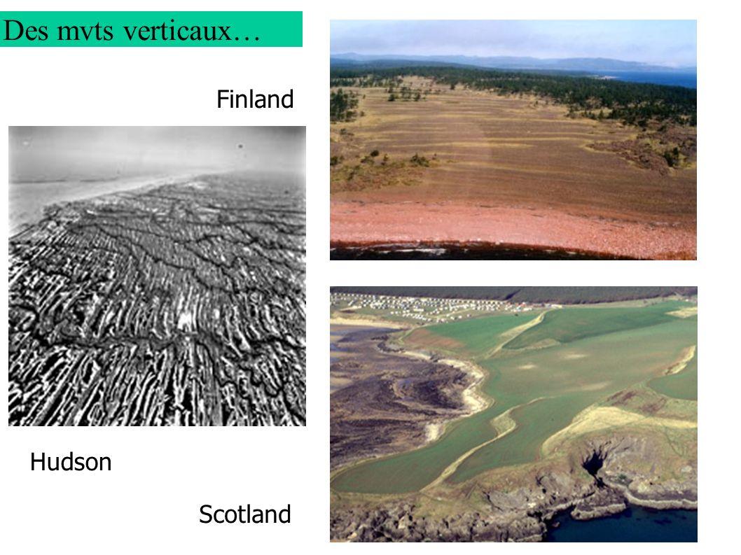 Finland Hudson Scotland Des mvts verticaux…