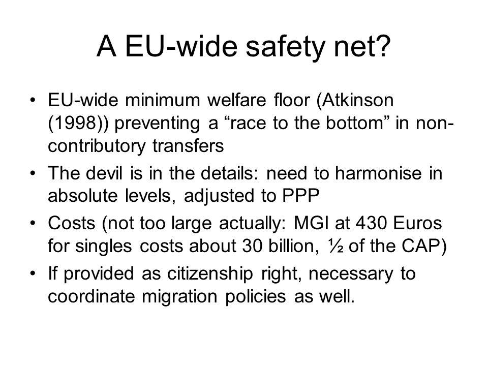 A EU-wide safety net.