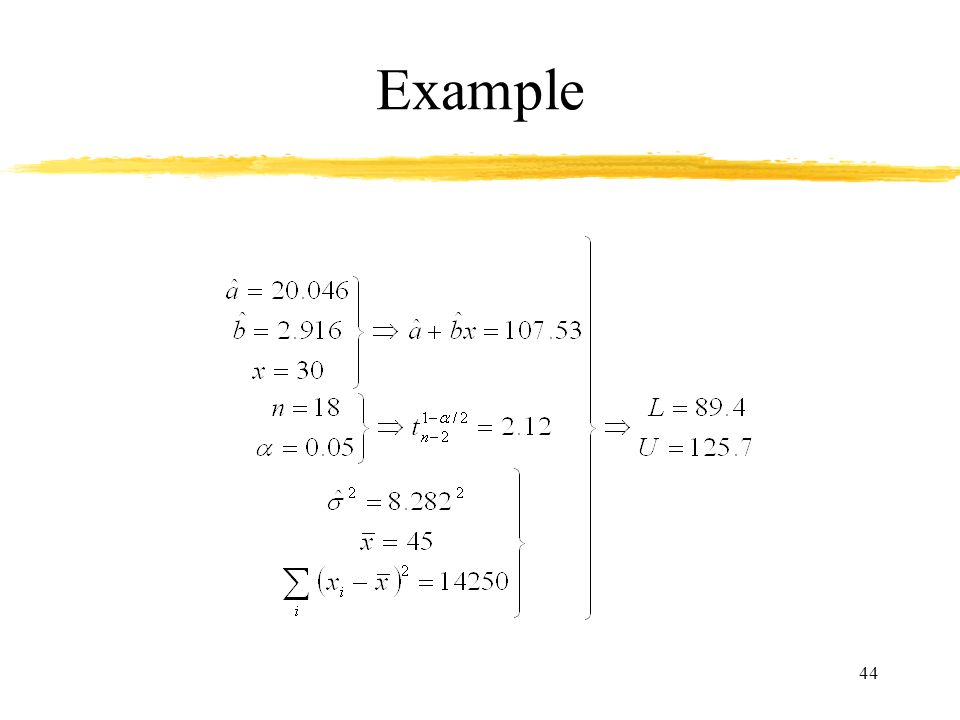 44 Example