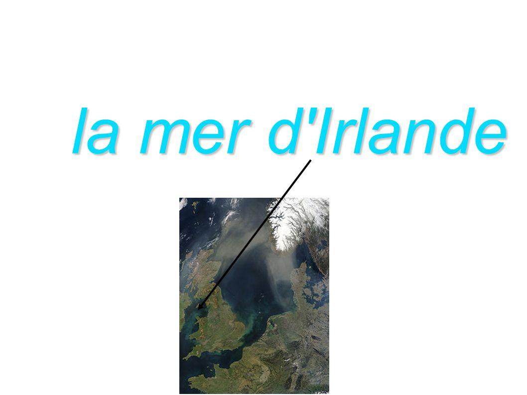 la mer d'Irlande