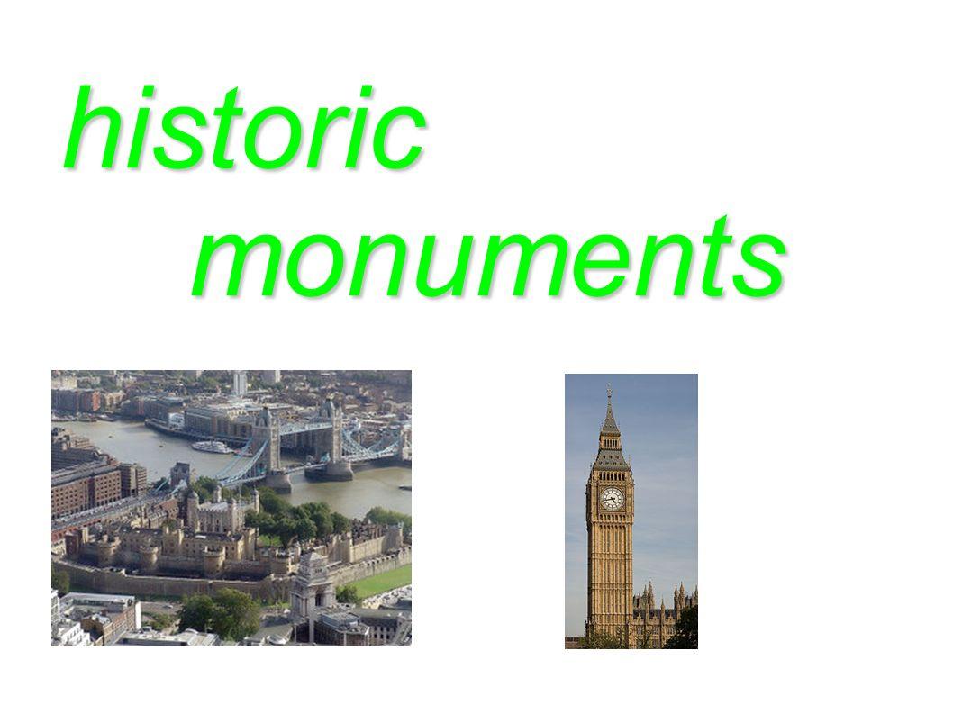 historic monuments monuments