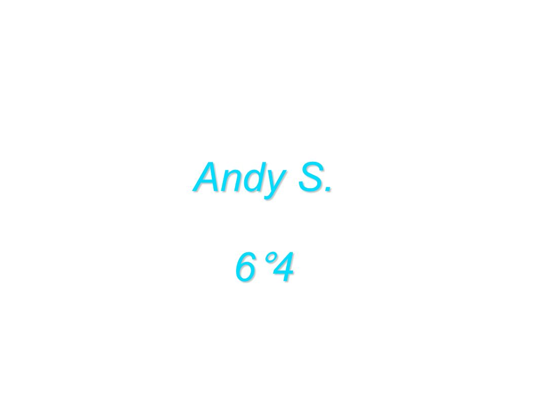 Andy S. 6°4