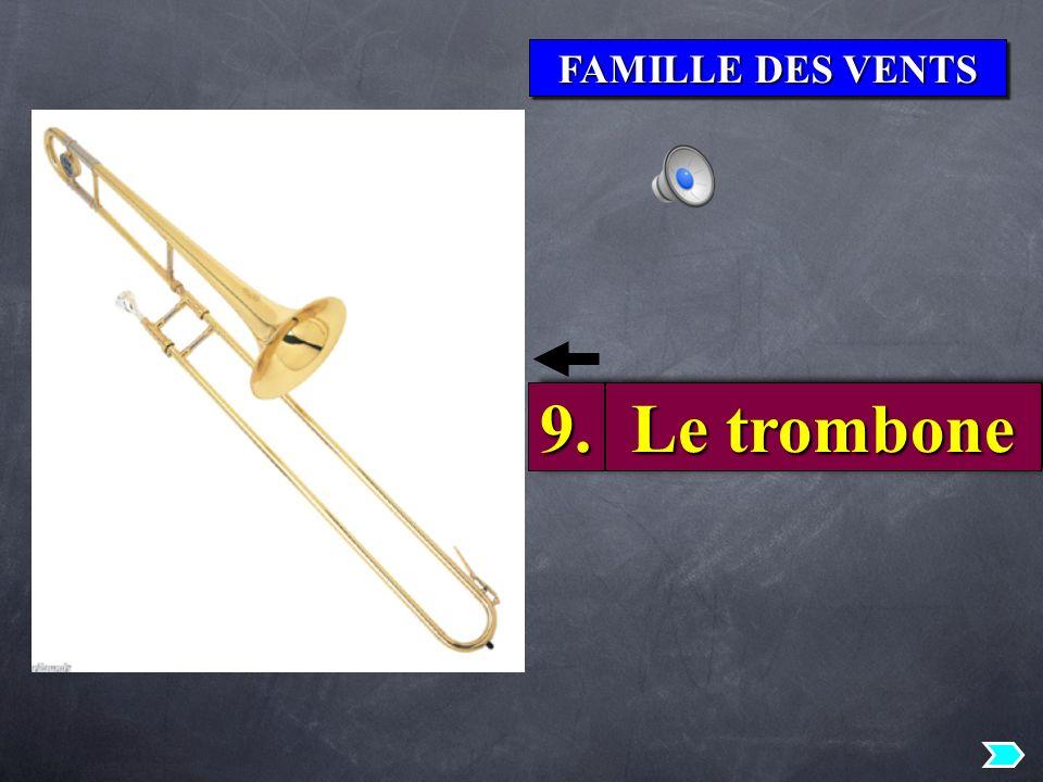 FAMILLE DES VENTS 9.9. Le trombone