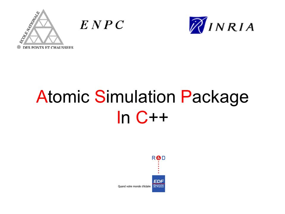 Atomic Simulation Package In C++
