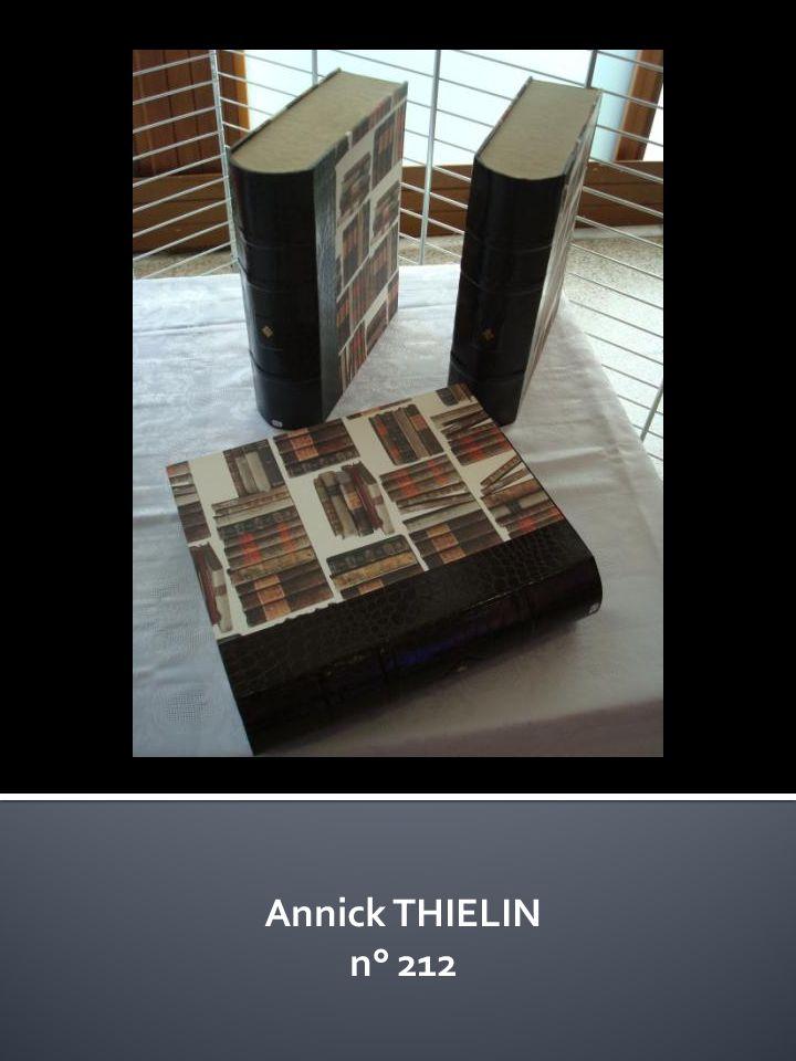 Annick THIELIN n° 212