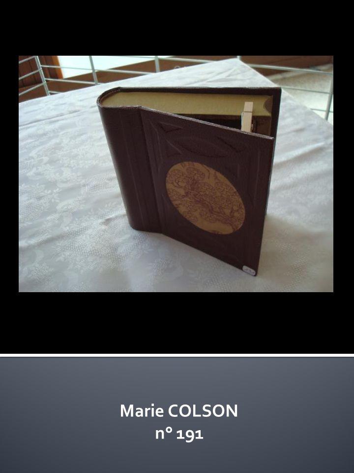 Marie COLSON n° 191
