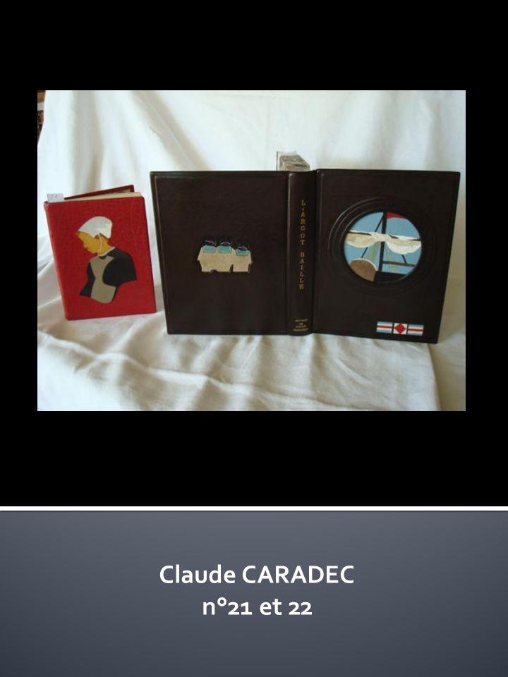 Claude CARADEC n°21 et 22