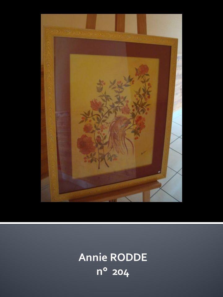 Annie RODDE n° 204