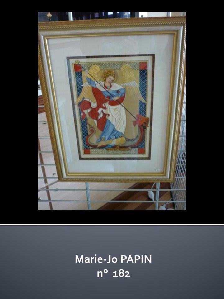 Marie-Jo PAPIN n° 182