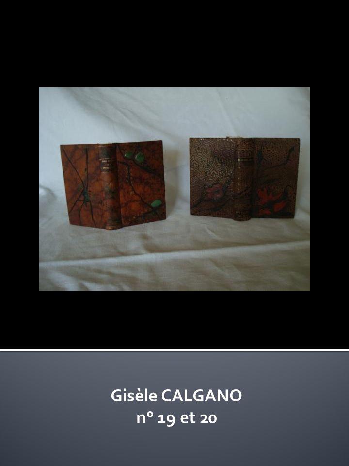 Gisèle CALGANO n° 19 et 20