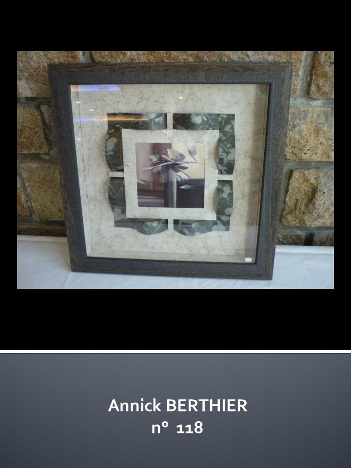 Annick BERTHIER n° 118