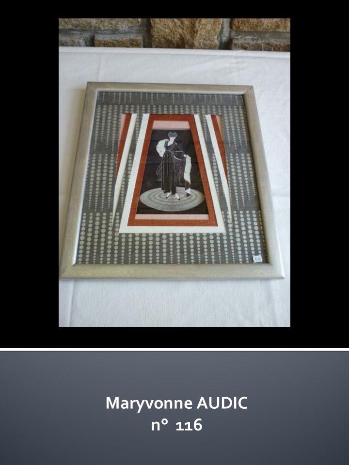 Maryvonne AUDIC n° 116